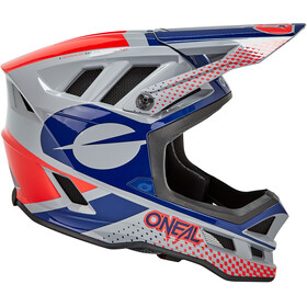 O'Neal Blade Polyacrylite Kask Delta, gray/blue/red
